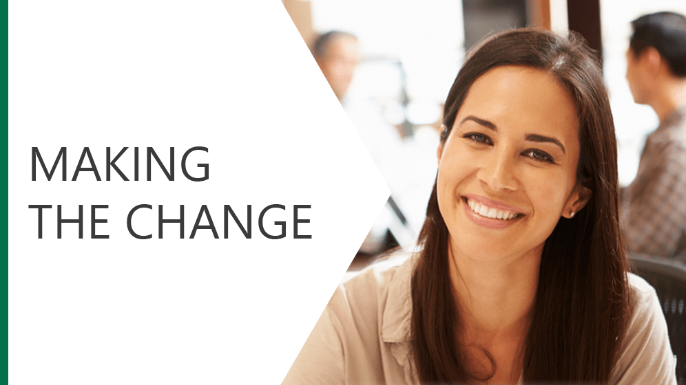 Making the Change Module